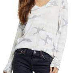 NWT Rails Sami-Stone Camo Long Sleeve T-shirt S